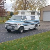 1964 CHEVY C30 KRAGER MOTORHOME CAMPER for sale: photos, technical