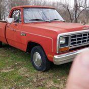 1985 Dodge D100 custom Excellent condition for sale: photos
