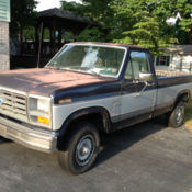 1985 ford f 250 460 4 speed for sale photos technical. Black Bedroom Furniture Sets. Home Design Ideas