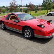 1985 PONTIAC FIERO GT 4 speed. 40,700 Original Miles. Rare interior! NO RESERVE!