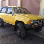 1988 TOYOTA PICKUP TRUCK 4WD 5 SPEED MANUAL 22RE 4 CYLINDERS EFI for