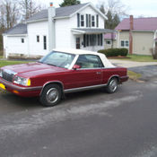 1985 chrysler lebaron convertible turbo mark cross package for Garage peugeot le baron brunoy