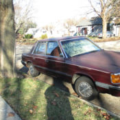 1986 Plymouth Reliant K ONE Owner ONLY 37257 Miles Drives FINE Lk