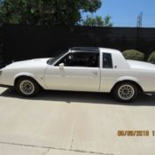 1987 Buick Regal T Type T Top Turbo V6 3 8l White Grand National 2nd