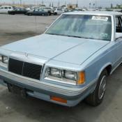 1989 Chrysler Lebaron 2 5 Turbo Automatic Class Legal Drag