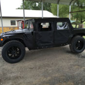 1991 am general m998 military humvee hmmwv hummer has title for on road use for sale photos. Black Bedroom Furniture Sets. Home Design Ideas