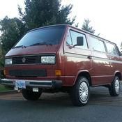 91 Vanagon tintop with 2 2 Subaru RMW conversion for sale