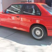1988 Bmw E30 M3 Henna Red Rare Color California Car From Day One