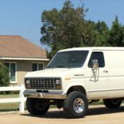 1989 Ford E250 Quadravan By Pathfinder 4x4 Van