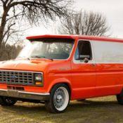 1983 Custom Ford E-150 Econoline van, Shorty, hot rod, for
