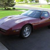 1990 Chevy Corvette ,Competition Yellow Greenwood Kit,Built