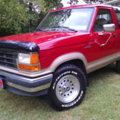 1990 ford bronco ii eddie bauer 4x4 clean v6tons of new partswinter ready