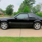 hatchback 1990 mustang lx