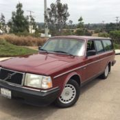 1990 Volvo 740 Turbo Wagon for sale: photos, technical