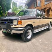 ford 350 super duty 1991