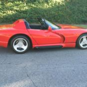 1992 dodge viper open mco warranty open delivery docs this car is a museum pce for sale. Black Bedroom Furniture Sets. Home Design Ideas
