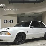 1989 Turbo Fox Body Mustang Coupe 850WHP for sale: photos, technical