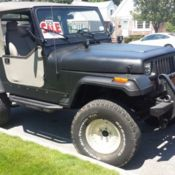 1992 jeep wrangler islander 4 0l 5spd hardtop 158k rust free white for sale photos technical. Black Bedroom Furniture Sets. Home Design Ideas