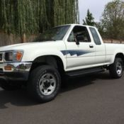 1992 toyota pickup regular cab deluxe long bed very low miles only 62k actual for sale photos. Black Bedroom Furniture Sets. Home Design Ideas