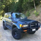 1994 Toyota Land Cruiser TLC80 FJ80 ARB Bumper Rust free for
