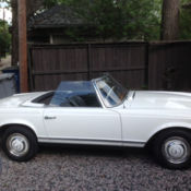 1976 Mercedes 450SL Roadster w/rebuilt engine and transmission for
