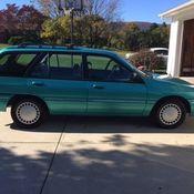 1996 mercury tracer station wagon