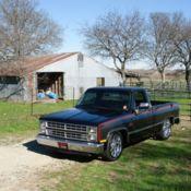 1986 Chevy C10 Custom  D1SC Procharged LS3/6L80e for sale: photos
