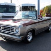 Custom 1972 Dodge Mopar Convertible Truck