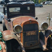 Don Franklin Mitsubishi >> 1929 Packard 633 Sedan with ALL factory parts for sale ...