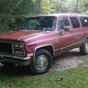 1989 GMC Suburban 2500 454 for sale: photos, technical