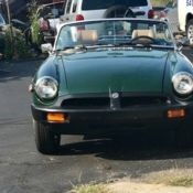 1972 MGB Convertable, green with tan interior   for sale