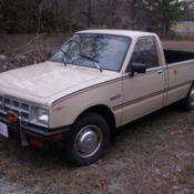 Isuzu Pup, 79000 original miles, 4x4 diesel, veggie oil