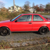 1987 nissan sentra very nice condition low mileage car for. Black Bedroom Furniture Sets. Home Design Ideas