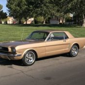 1965 FORD FALCON RANCHERO V8 FOUR SPEED CALIFORNIA BARN