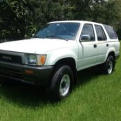 1988 TOYOTA PICKUP TRUCK 4WD 5 SPEED MANUAL 22RE 4 CYLINDERS