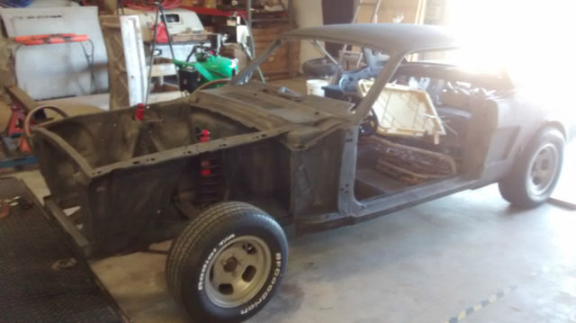 1966 Ford Mustang Shell Parts Project Car For Sale Photos