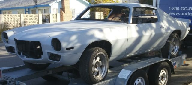 1971 CAMARO ** Awesome PROJECT CAR ** Many PARTS and EXTRAS
