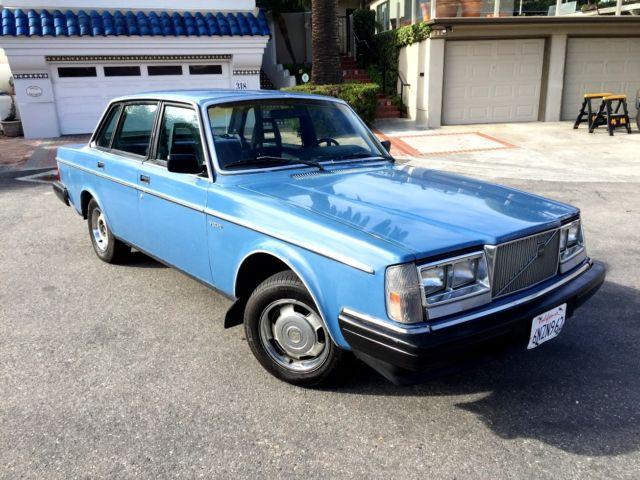 1985 vintage volvo 240dl rare scotia blue very clean 1 owner 240 dl for sale photos technical. Black Bedroom Furniture Sets. Home Design Ideas