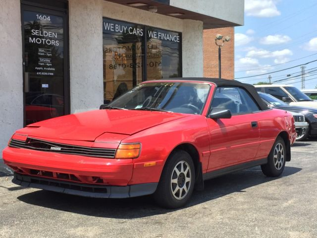 19890000 Toyota Celica 2dr Coupe Co