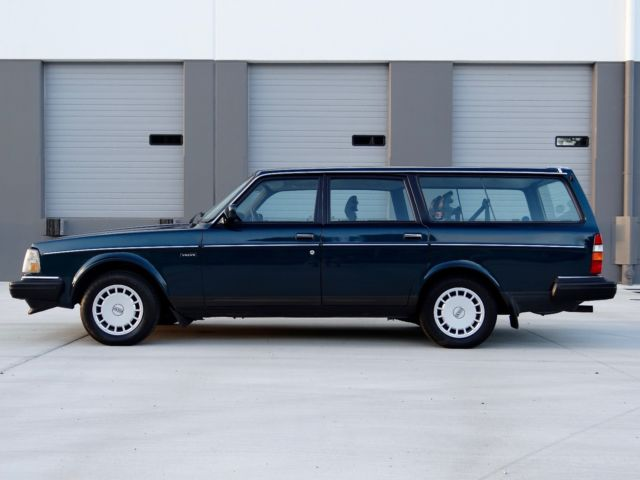 Volvo 240 Wagon 1991 Blue For Sale. YV1AA8850M1896682 1991 ...   1991 Volvo 240 Wagon