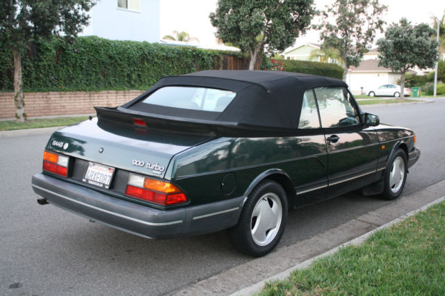 1994 saab 900 turbo convertible 2 door 2 0l cool classic. Black Bedroom Furniture Sets. Home Design Ideas