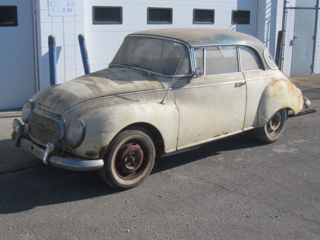 barn find 1961 auto union dkw 1000 s vintage audi. Black Bedroom Furniture Sets. Home Design Ideas