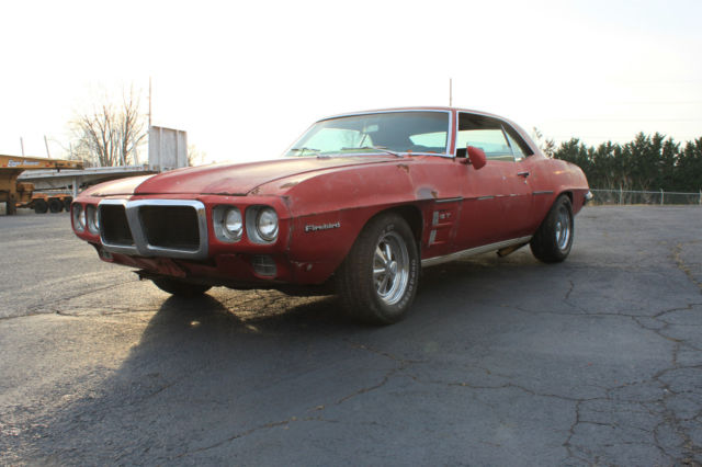1969 Pontiac Firebird NOT TRANS AM 1969 PONTIAC FIREBIRD GT 350