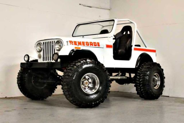 Custom lifted amc 360 v8 at super swamper for Cj custom homes