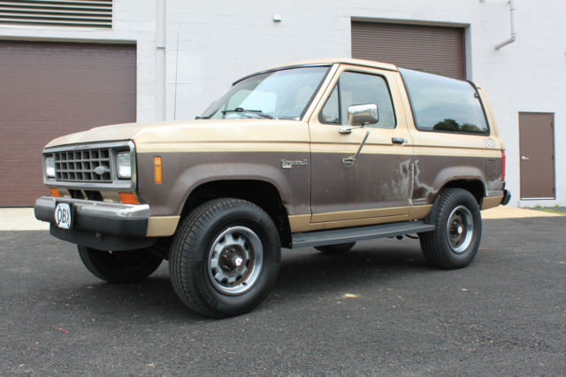 1987 Ford Bronco II 1987 FORD BRONCO II XLT 4X4