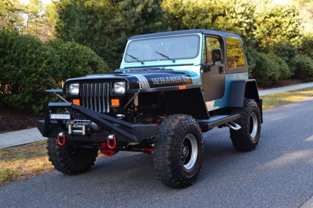 1990 Jeep Wrangler Custom