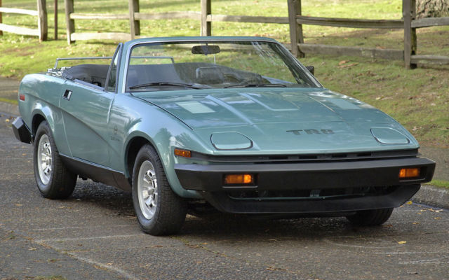 1980 Triumph Other : Fuel Injected TR8