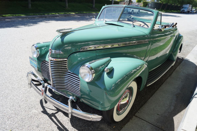 1940 Chevrolet Special Deluxe Convertible --