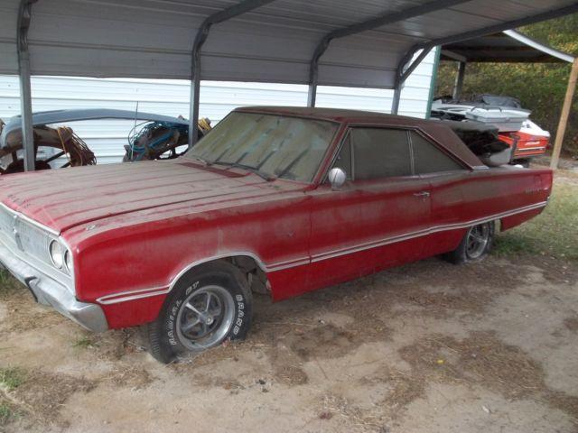 L K 1967 Dodge Coronet 440 2 Door Ht Automatic Factory A C Car No