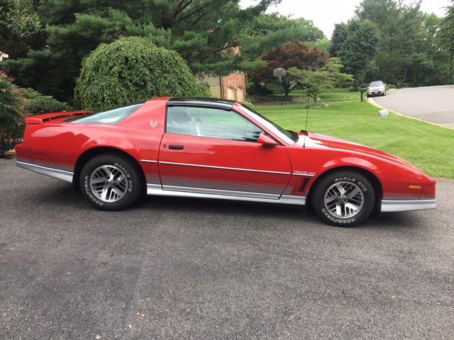 rare 1984 pontiac firebird trans am ho ws6 ra 3rd gen for sale photos technical specifications description topclassiccarsforsale com